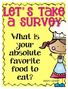 Survey and Graph ... My Absolute Favorite Food to Eat