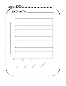 Survey and Graph Project for 2nd-3rd Grade