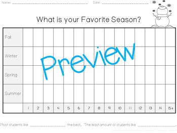 Survey and Graphing Lesson Plan with Meaningful Activities!