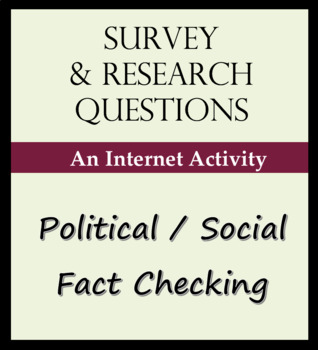 Survey and Research Questions - Political and Social Facts