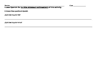 Survey - do you like...class?