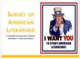 Survey of American Literature Intro to Unit PPT
