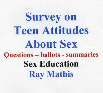 Survey of Teen Attitudes about Sex and Relationships