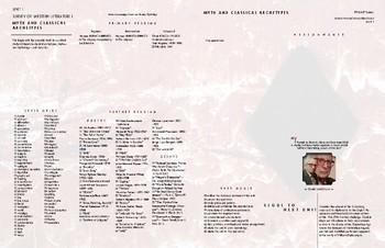Survey of Western Literature I Complete Unit Planner