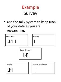 Surveying, Graphing, Anaylzing