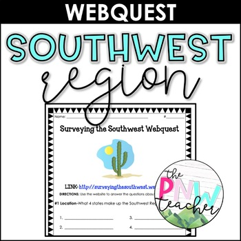 Surveying the Southwest Webquest