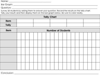 Surveys, Tallies, and Bar Graphs