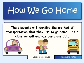 Surveys and Data Analysis - How We Go Home