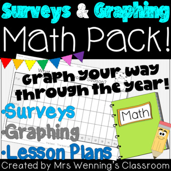 Surveys and Graphing Pack!