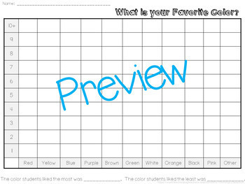 Graphing and Survey Activities and Lesson Plan Pack!