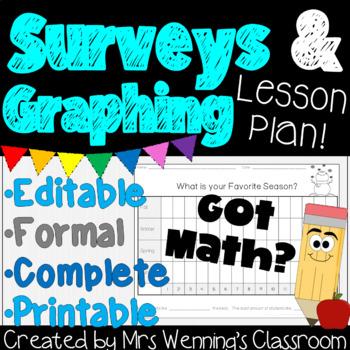 Graphing and Surveys Activities Pack!