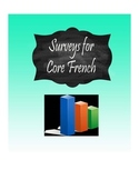 Surveys for French Class