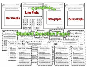 Surveys in a Snap! {The Complete Graphing Packet}