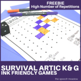 "Survival Articulation: ""K"" and ""G"" Freebie"