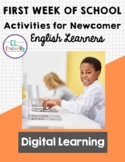 First Week of School: Activities and Survival Language for
