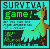 Survival Games; An Fun & Challenging Intro to Evolution &