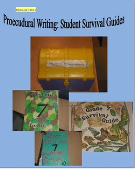 Survival Guide - End of Year Procedural Writing