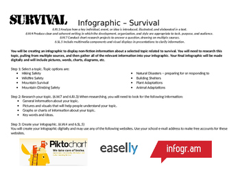 Survival Infographic Assignment