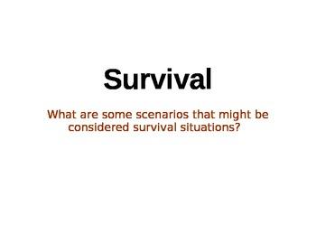 Survival Intro.