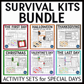Survival Kits for Special Days Bundle