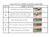 Cutting with Knife and Fork Visual