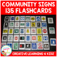 Community Safety Survival Signs & Symbols 135 Flashcards