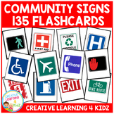 Community Safety Survival Signs & Symbols 135 Flashcards