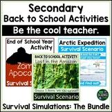 Survival Simulations BUNDLE DEAL
