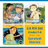 Survival Stories Lit Kit Set - BUNDLE Gr. 5-6
