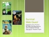 Survival Unit Webquest