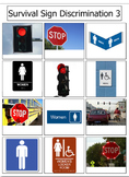 Survival and Safety Signs Bundle 1