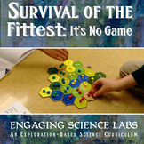 Survival of the Fittest: A Game of Populations