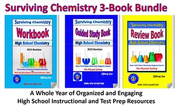 Surviving Chemistry 3-Book Bundle - 2015 Revisions: A Whole Year of HS Chem