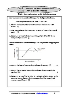 Surviving Chemistry Regents Exam: Questions for Exam Practice 2014 Edition