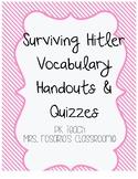 Surviving Hitler Vocabulary & Quizzes