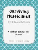 Surviving Hurricanes by Elizabeth Raum Partner Activity/ M