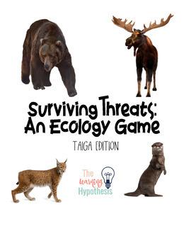 Surviving Threats: An Ecology Game  Taiga Edition