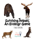 Surviving Threats: An Ecology Game  Taiga Edition