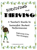 Surviving & Thriving -- Strategies for Successful Music Pe