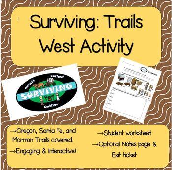 Surviving: Trails West Activity