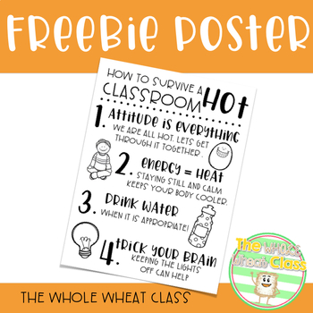 Surviving a Hot Classroom Free Poster