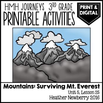 Surviving on Mt. Everest: Journeys 3rd Grade (Unit 5, Lesson 25)