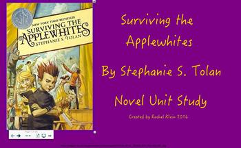 Surviving the Applewhite Complete Unit (Smartboard)