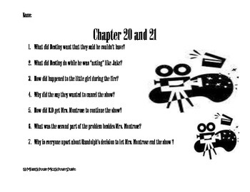 Surviving the Applewhites Chapter 20 and 21