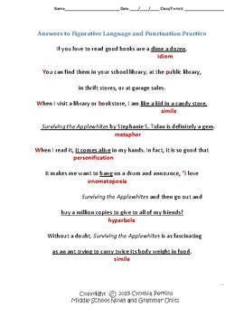 Surviving the Applewhites Complete Grammar and Literature Unit