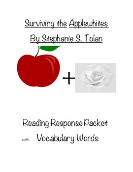 Surviving the Applewhites Response Packet (Bundled)