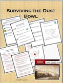 Surviving the Dust Bowl online and movie activity