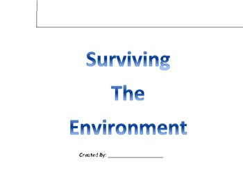 Surviving the Environment Flipbook-Adaptations