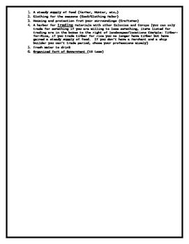 Survivor Colonies (Word Format)