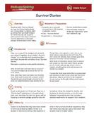 Survivor Diaries; Online Safety Guidelines